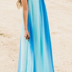 Beautiful Boutique chiffon Maxi dress